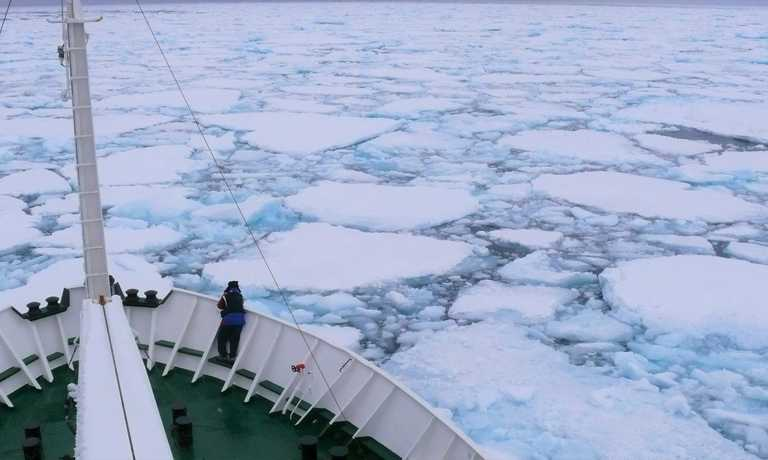 How to get to the Arctic